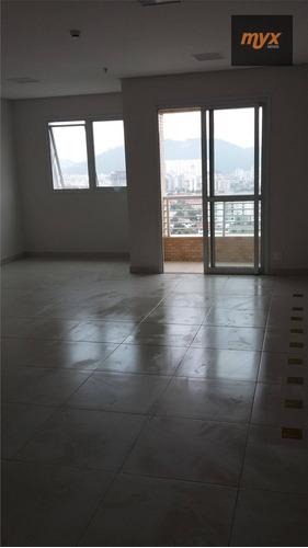 Sala Para Alugar, 49 M² Por R$ 2.000,00/mês - Vila Matias - Santos/sp - Sa0187
