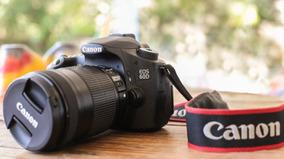 Câmera Eos 60d Canon + Lente 18-135mm