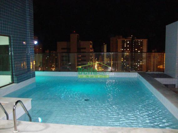 Ótimo Flat Com 1 Dormitório Para Alugar, 35 M² Por R$ 1.700/mês - Boa Viagem - Recife/pe - Fl0350