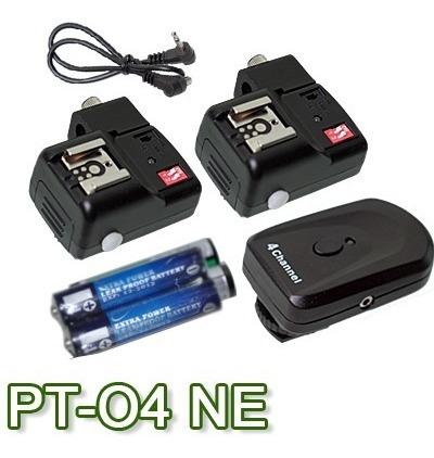Radio Pt 04 Trans, 2 Receptores Encaixe Sombr. E Rosca 1/4