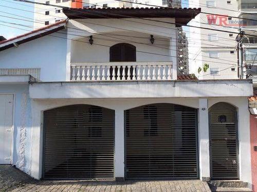 Imagem 1 de 10 de Sobrado À Venda, 224 M² Por R$ 689.000,00 - Vila Gilda - Santo André/sp - So0851