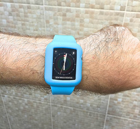 Pulseira Apple Watch 42 Mm Sport Azul