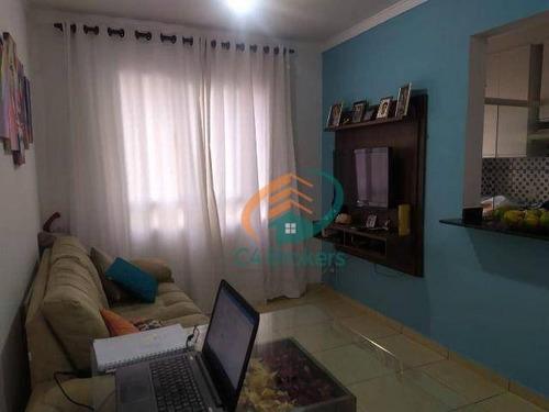 Imagem 1 de 20 de Apartamento À Venda, 45 M² Por R$ 245.000,00 - Ponte Grande - Guarulhos/sp - Ap1977