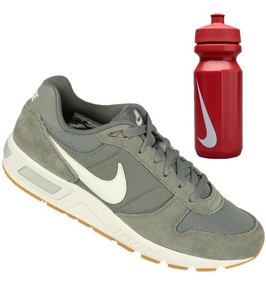 Oferta Nike Tênis Nightgazer Cinza+ Garrafa Vermelho Fitness