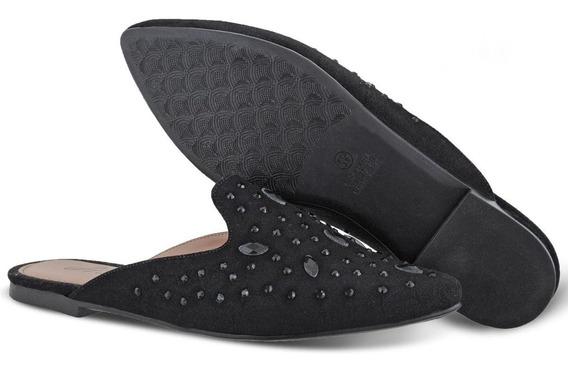 Mule Pedraria Preto Prime Shoes