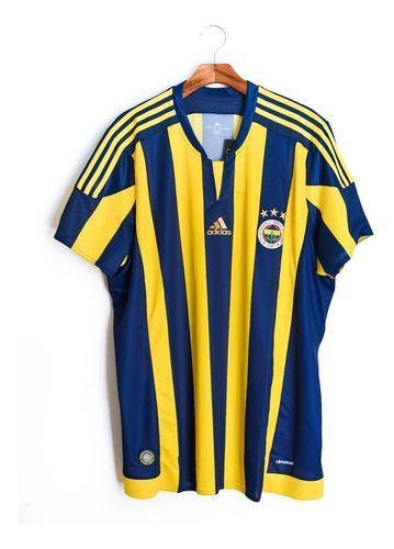 Camisa De Futebol Masculino Fenerbahce 2015 16 Adidas Mercado Livre