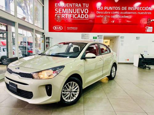 Imagen 1 de 15 de Kia Kia Rio Sedan 2020 4p Lx, 1.6 L Mpi Tm6, Ve, Ba, Bl, Ra