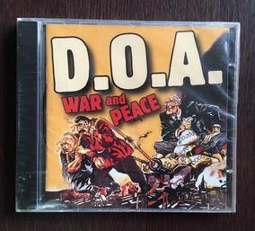 Cd D.o.a. - War And Peace