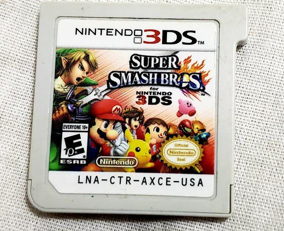 Super Smash Bros Para Nintendo 3ds E 2ds (sem Caixa)