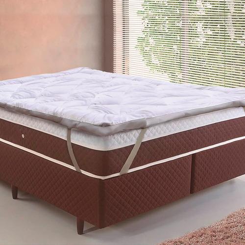 Pillow Top Toque De Plumas Queen 1,58x1,98 - Tessi