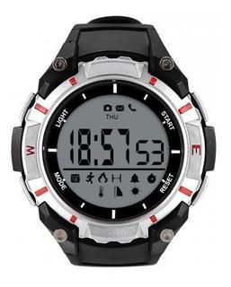 Relogio Smartwatch Dzb Preto E Prata