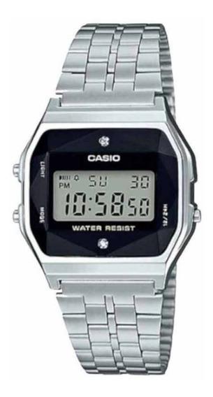 Relógio Casio Vintage A159wad-1df Diamond Original Com Nf