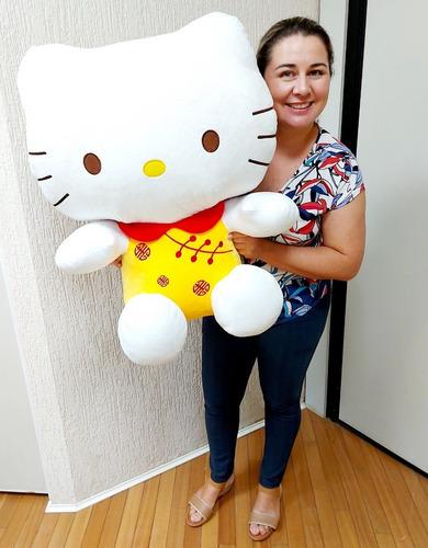 Hello Kitty Grande Pelúcia Gigante 65cm Presente P/ Namorada