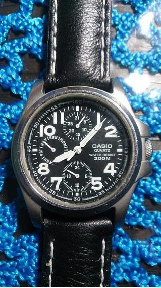 Relógio Casio 200mts Coroa Rosqueada