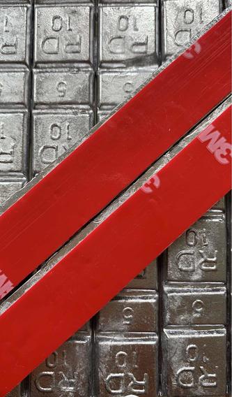 Contra Peso Chumbo Colante 5/10 - 25 Peças 1,5 Kg