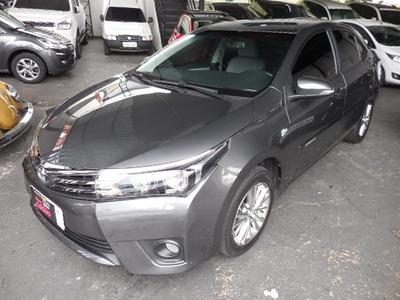 Toyota Corolla Xei 2.0 Flex 2017 Cinza Revisado