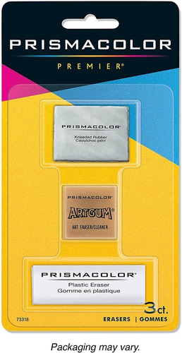 Prismacolor Premier Erasers / Pack De 3 Gomas De Borrar