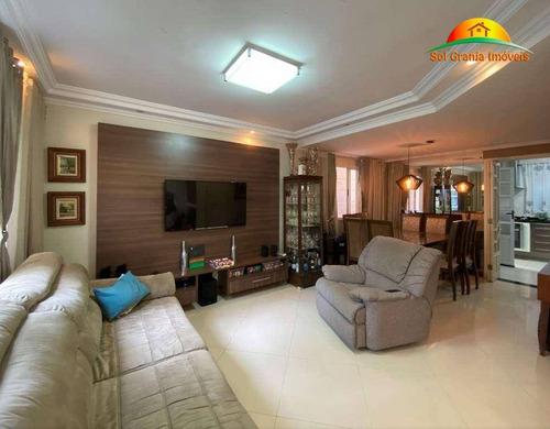 Casa Com 3 Dormitórios À Venda, 91 M² Por R$ 530.000,00 - Granja Viana - Cotia/sp - Ca0240