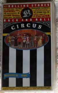 Vhs Rolling Stones Rock And Roll Circus U.s.a.