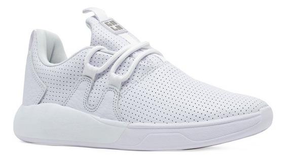 Tênis Hocks Skate Galáctica Gala Sneaker Branco White Couro Original Masculino E Feminino Confortável Envio Imediato