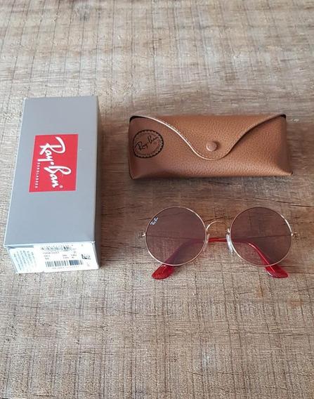 Óculos Ray Ban Ja-jo Rb3592 Vermelho Transparente - Original
