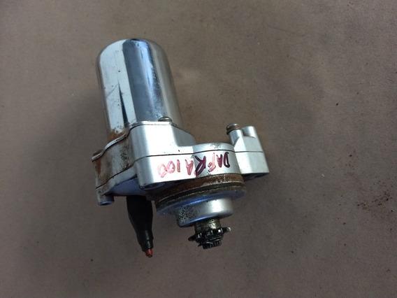 Motor Partida Arranque Dafra Super 100 Usado Original
