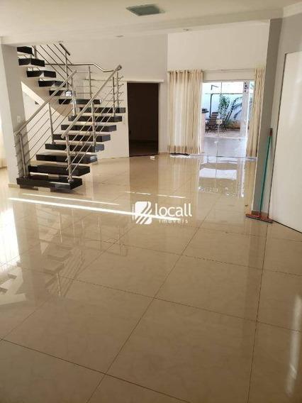 Casa Com 3 Dormitórios Para Alugar, 230 M² Por R$ 3.500/mês - Parque Residencial Damha Iv - São José Do Rio Preto/sp - Ca2075