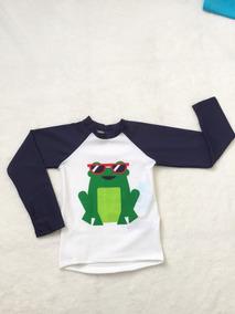 Camisa Infantil Sapo Puket Masculino Tamanho 4