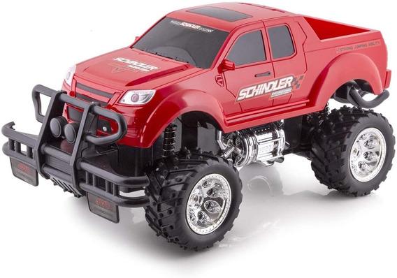 Carrinho De Controle Remoto Pick Up Monster Truck Polibrinq