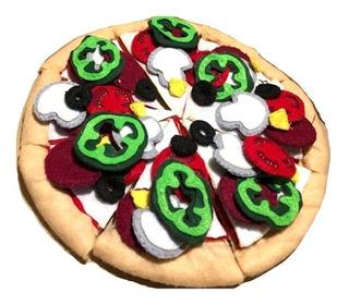 Hot Sale Descto Juego Didáctico Pizza Niños Casa Regalo Papá