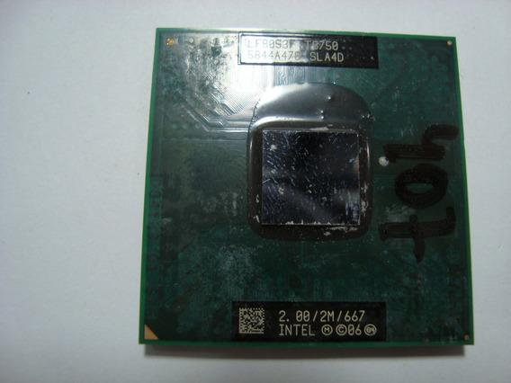 Processador Core 2 Duo T5750 2mb 2.00ghz 666 Sla4d