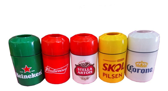 Kit 5 Porta Litrinhos Sortidos Porta Cerveja