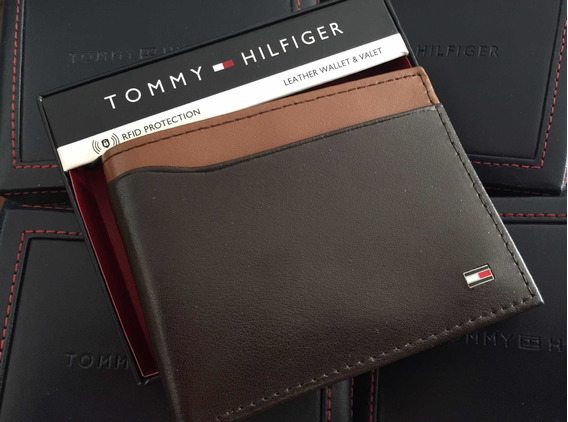 Billeteras Tommy Hilfiger Cuero 100% Original