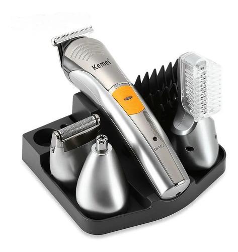 Maquina Corte Afeitadora Kit 7 En 1 Pro Gemei Gm-570 Recarga