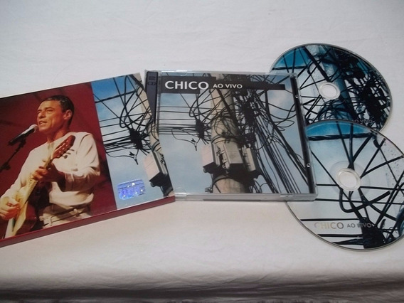 Cd - Chico Buarque - Ao Vivo - Mpb Cantor