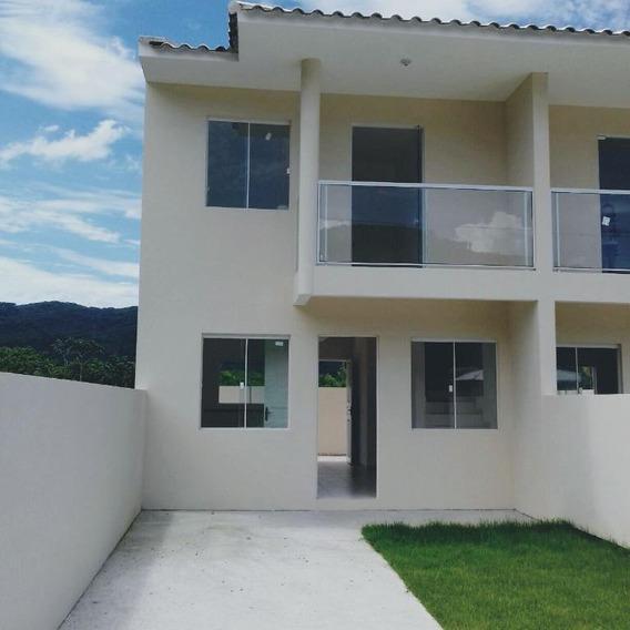 Sobrado Residencial À Venda, Bela Vista, Palhoça. - So0448