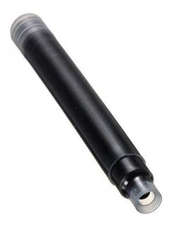 Tinta Negra Pack 15 Pz Cartucho Desechable Para Pluma Fuente
