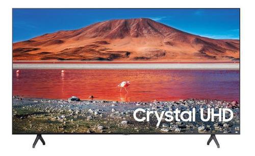 Imagen 1 de 3 de Televisor Samsung Un55tu7000kxzl  Led Smart 4k Uhd Plano.