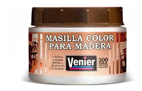 Masilla Para Madera Venier X 200grs
