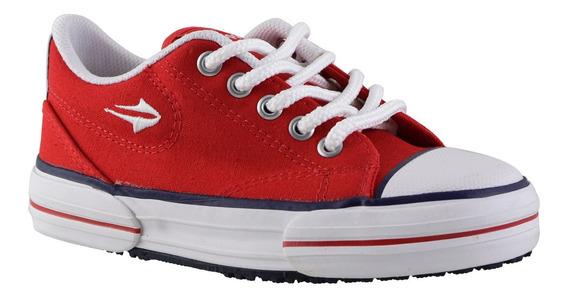 Zapatillas Topper Nova Low Niños Rojo