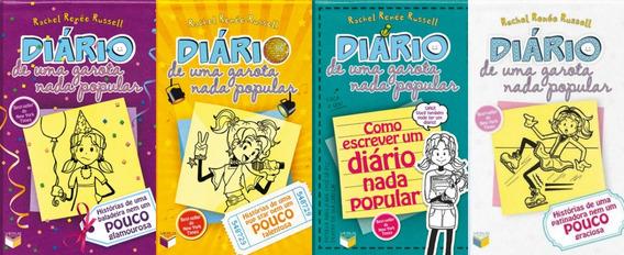 Diário De Uma Garota Nada Popular 2 Ao 4 = 4 Livros