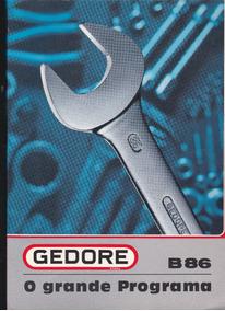 Catálogo Gedore B86 O Grande Programa
