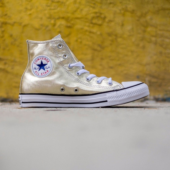 Converse Chuck Taylor All Star Metallic High Top Gold
