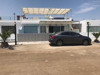 Casa De Playa En Condominio Isla Del Sol/km 123 Panam-sur