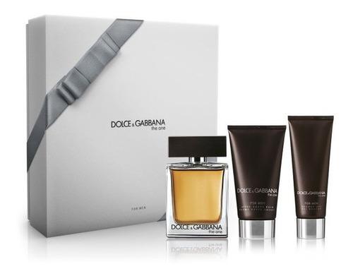 Imagen 1 de 4 de Dolce & Gabbana The One Edt 100ml + After Shave + Shower Gel