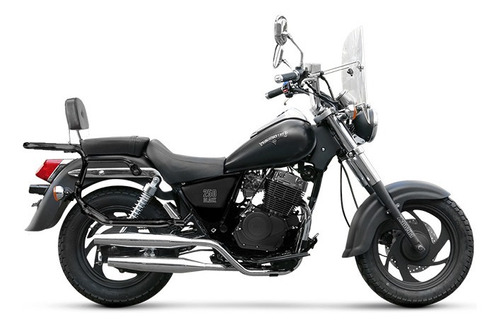 Moto Patagonian 250 Black  0km Zanella Urquiza Motos Chopper