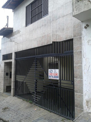 Sobrado Residencial À Venda, Vila Guarani(zona Leste), São Paulo. - So5120