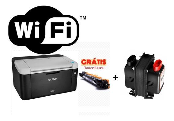 Impressora Brother Hl-1212w + Toner Extra + Transformador