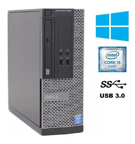 Imagem 1 de 5 de Cpu Desktop Dell Optiplex Core I5 Memoria 8gb Hd 500gb