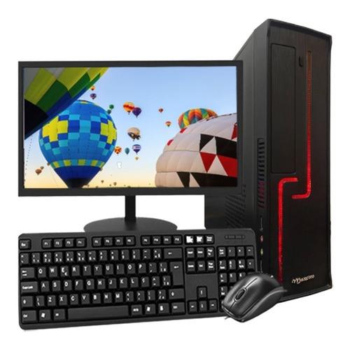 Imagem 1 de 4 de Computador Pc Intel I5 4gb Hd 500gb Gabinete Slim Bivolt